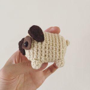 Pug - Perros A Crochet - Nariz De Azúcar Amigurumis - $ 2.000,00 ...   300x300