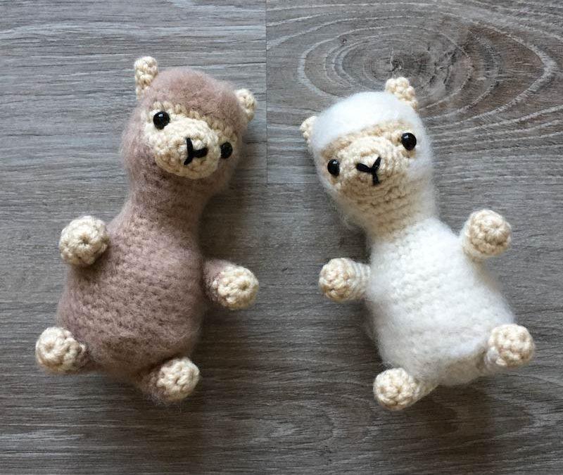Alpaca Crochet Amigurumi Pattern - Sir Purl Grey