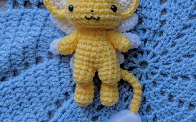 Kero (Cardcaptor Sakura) Amigurumi Crochet Pattern