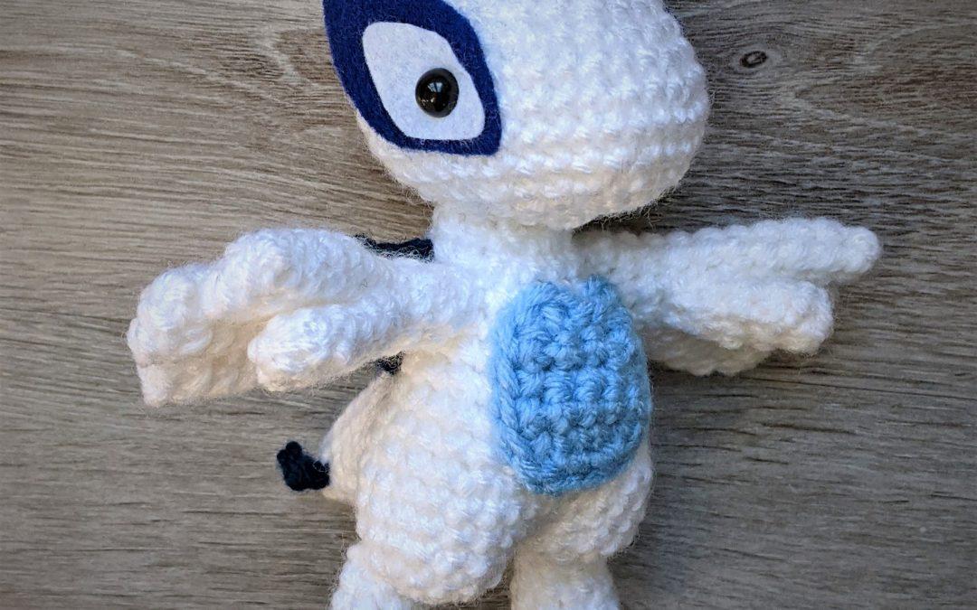 Lugia (Pokemon) Amigurumi Crochet Pattern