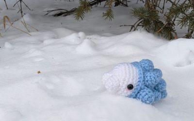 Snom (Pokemon) Amigurumi Crochet Pattern